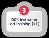 100% Instructor Led Training